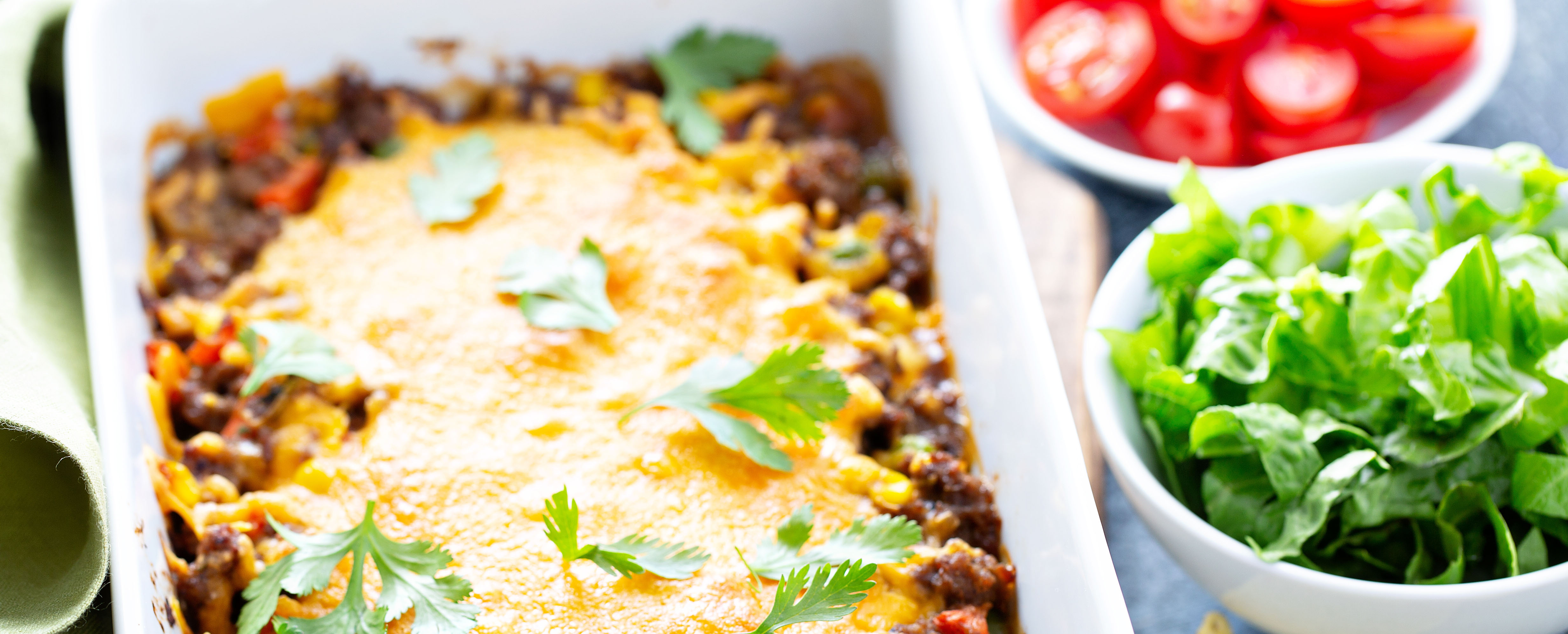 Vegetable Enchilada Casserole